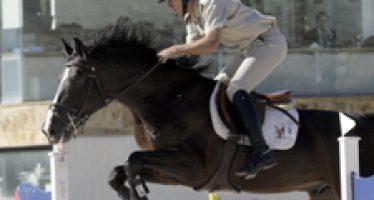 Hugo Álvarez comenzó a correr en Aros los caballos de Yeguada Del Maset