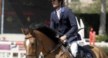 Carlos Gómez Sánchez debutó en el CES los caballos del Maset