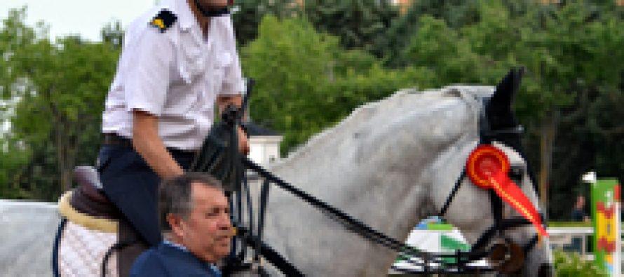 """Bohemio AZ"", ganador del pequeño Gran Premio de Valdemoro"