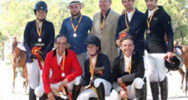 Yeguada Del Maset, oro en el Campeonato de España de Yeguadas