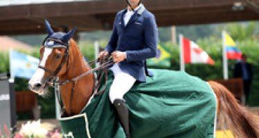 Dos caballos de Yeguada La Mesada brillan en el CSI4* de La Coruña