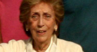 Falleció Elvira Francos